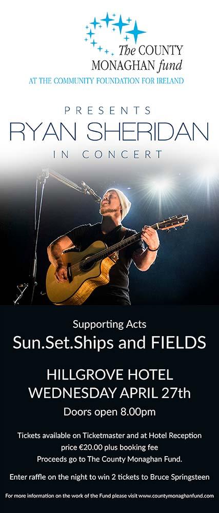 Ryan Sheridan Concert